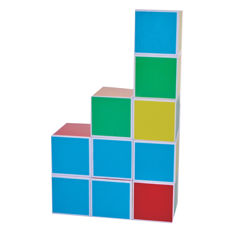 קוביות מגנט להרכבה בתלת מימד 64 חלקים PLAYMAGER - משלוח חינם - תמונה 4