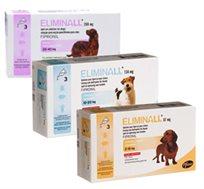3 אמפולות נגד פרעושים Eliminall לכלבים