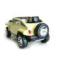 ג'יפ האמר ממונע 12V לילדים עם דלתות נפתחות וסגירה אוטומטית
