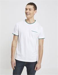 חולצת טי קצרה עם כיס