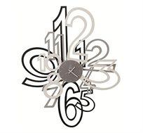 שעון קיר מתכת MIMIC 3D