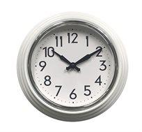שעון קיר מחוגים בעיצוב קלאסי דגם טוסקנה בגוונים לבחירה