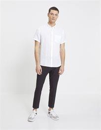 חולצה מכופתרת שרוול קצר בגזרת regular