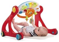 אוניברסיטה רב-שלבית לתינוק משולבת פעלולון והליכון 4 ב 1
