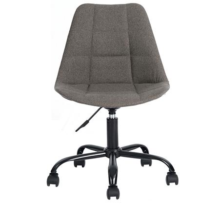 כיסא מנהלים לבית או למשרד בריפוד בד עם מנגנון שעולה ויורד דגם הוגו Homax - תמונה 3