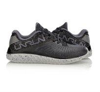 נעלי ריצה מקצועיות לנשים Li Ning Cloud 4 Flame Cushion Running בצבעי שחור/אפור