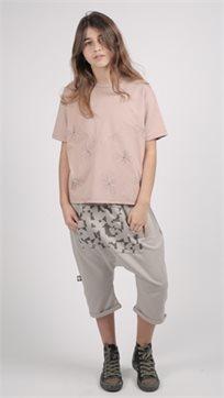 MAYAYA חולצת בנות (2-14 שנים) ISO פודרה הדפס