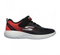 נעלי ריצה לילדים - אדום שחור