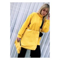 Open Bag /Bag-B - צהוב מנוחש