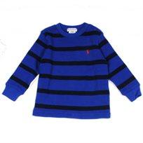 Ralph Lauren / ראלף לורן (12 חודשים) חולצת פיקה פסים - כחול