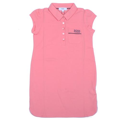 Boss / בוס שמלה בנות - ורוד מידה 14