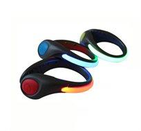 קליפ LED המתחבר לעקב של הנעל או רצועת יד זוהרת לרכיבה על אופניים