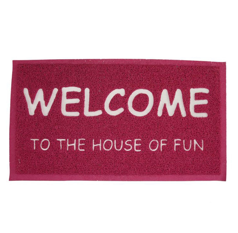 שטיח כניסה לבית דגם WELCOME בצבעים לבחירה