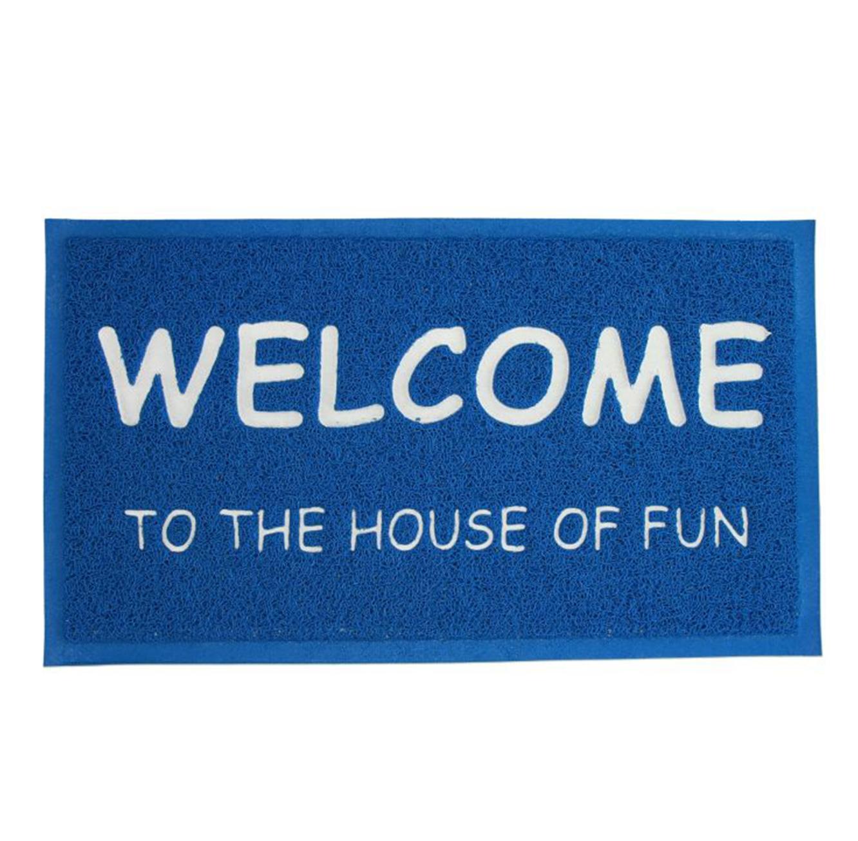 שטיח מעוצב לדלת הכניסה לבית דגם WELCOME בצבעים לבחירה - תמונה 2