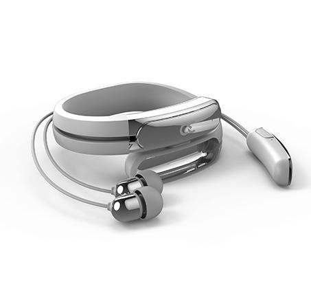 צמיד אוזניות Bluetooth דגם Helix Cuff - משלוח חינם - תמונה 3