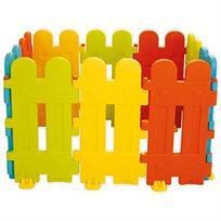"""גדר מודולארית גבוהה מפלסטיק קשיח 10 חלקים 420 ס""""מ אורך"""