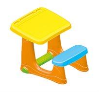 שולחן כתיבה ויצירה לילדים Dolu עשוי פלסטיק לחדר הילדים
