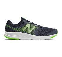 נעלי ריצה לגברים NEW BALANCE דגם M411LN1 בצבע כחול כהה/צהוב