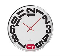 שעון לבן שש אדום OLIVER HEMMING