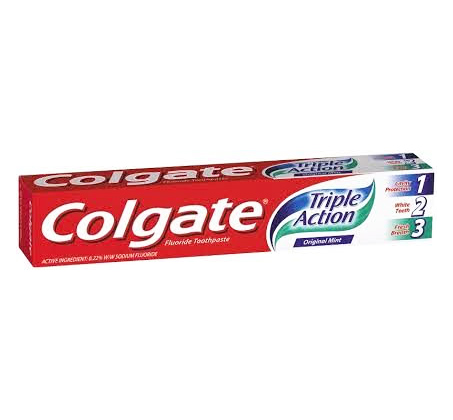 מארז 10 יחידות משחת שיניים Triple Action