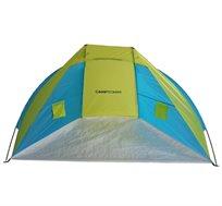אוהל חוף פתוח מבית CAMPTOWN מתאים לשימוש בים, טיולים וקמפינג