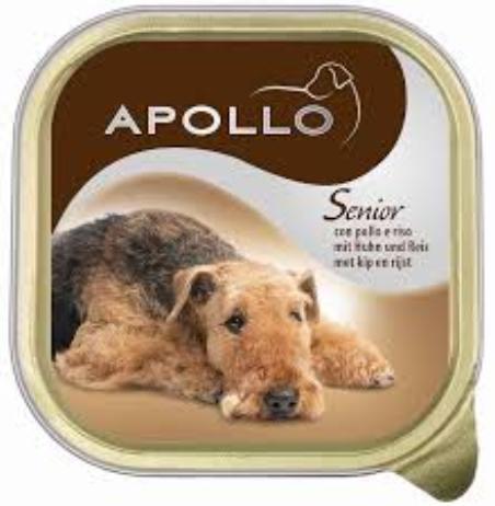 12 אפולו סניור-מעדן לכלב מבוגר 150 גרם