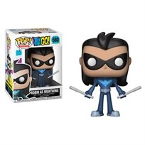 580 (Funko Pop - Robin As Nightwing (Teen Titan Go   בובת פופ