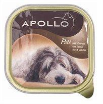 6 אפולו מעדן לכלב נזיד הודו בקר וירקות 300 גרם
