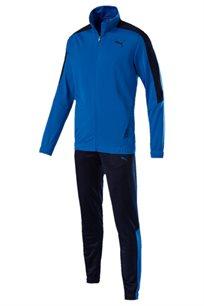 חליפת ספורט רב עונתית לגברים PUMA Techstripe Tricot Suit CL בצבע כחול