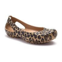 Crocs Kadee Leopard - נעלי בובה מנומרות