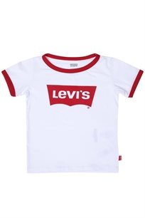 LEVIS ילדים קטנים  // RETRO RINGER TEE WHITE