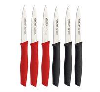 סט 6 סכינים לחיתוך פירות וירקות