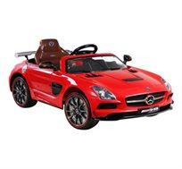 מכונית חשמלית 12V לילדים דגם MERCEDES AMG אדום