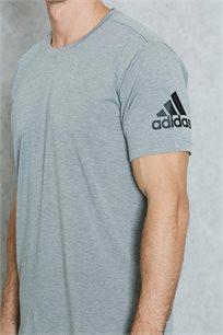 חולצת ספורט לגברים FreeLift Prime - אפור בהיר