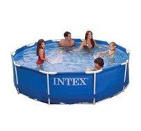 בריכה משפחתית עגולה בעלת קוטר 3.05 מטר INTEX