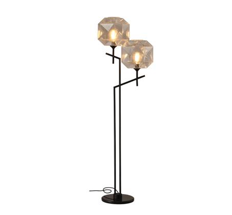 מנורת עמידה דגם קנדל שקוף 2