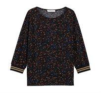 חולצה עם שרוול 3/4 PROMOD לנשים - צבע לבחירה