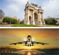 טיסה הלוך חזור למילאנו רק בכ-$191*