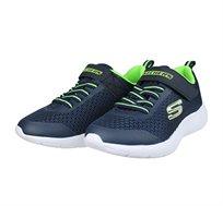 נעלי ספורט לילדים - כחול ירוק