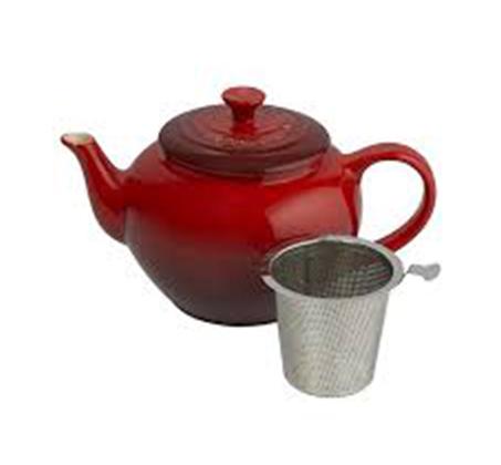 קומקום 1 ליטר לחליטת תה כולל מסנן LE CREUSET