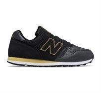 נעלי סניקרס לנשים NEW BALANCE דגם WL373NG בצבע שחור/צהוב