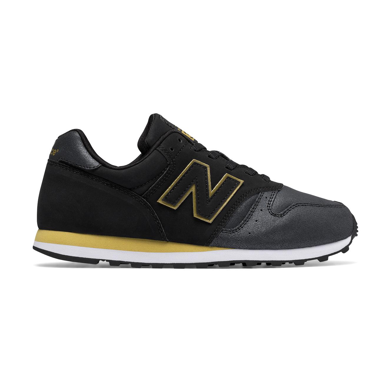 נעלי סניקרס לנשים NEW BALANCE דגם WL373NG - שחור/צהוב