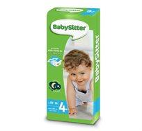 4 מארזי חיתולים Babysitter חיתול דק עם גמישות כפולה