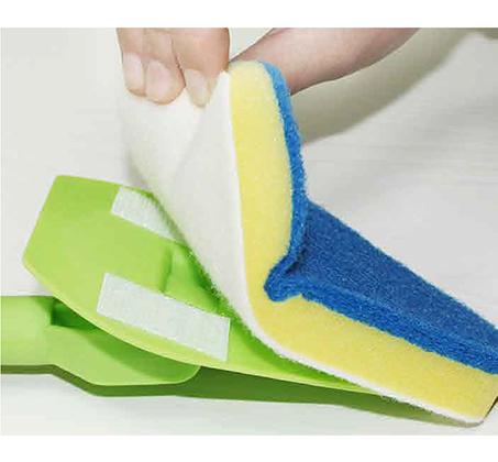 מברשת נקיון רב שימושית עם מוט טלסקופי לנקיון הבית בצורה נוחה ויעילה BPATENT - תמונה 4
