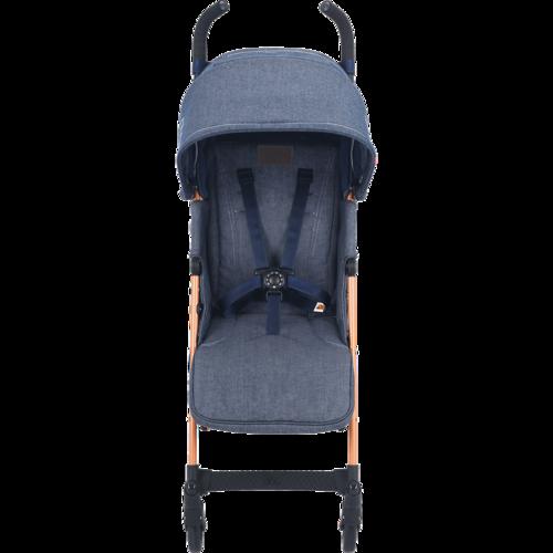 טיולון לתינוק קווסט 2019 עם גגון מורחב ומערכת נסיעה חדשה - ג'ינס - משלוח חינם - תמונה 2