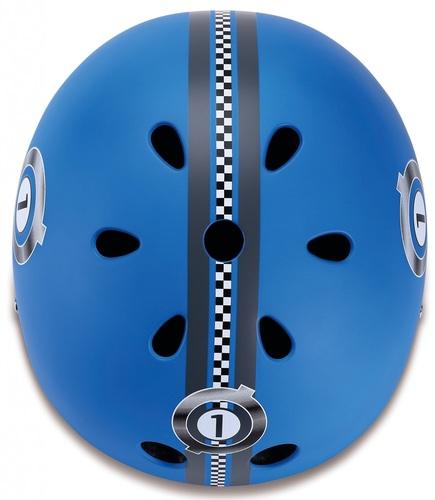 קסדה בטיחותית ומעוצבת עם מנגנון התאמה לראש - כחול - תמונה 4