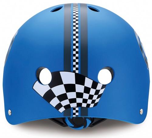 קסדה בטיחותית ומעוצבת עם מנגנון התאמה לראש - כחול - תמונה 3