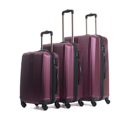 סט שלוש מזוודות קשיחות Calpak בגדלים שונים
