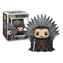 "Funko Pop - Jon Snow On Throne 6"" (Got) 72  בובת פופ"