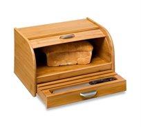 """ארגז לחם מבמבוק לשמירת טריות הלחם מבית honey can do ארה""""ב"""